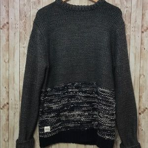 Native Youth Wool Blend Knit Sweater